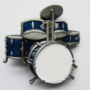 New Drums drummer belt buckle